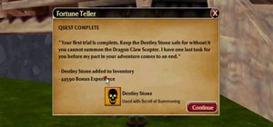 Complete the Fortune Teller quest in Sherwood Dungeon