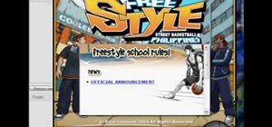 Use Cheat Engine to hack the game Freestyle Basketball Online