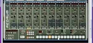Produce a drum and bass track using Reason 4
