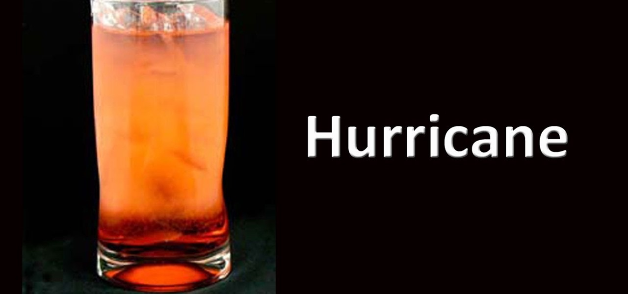 How to Mix a hurricane cocktail like a pro « Specialty Drinks