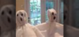 Make ghost lollipops for Halloween