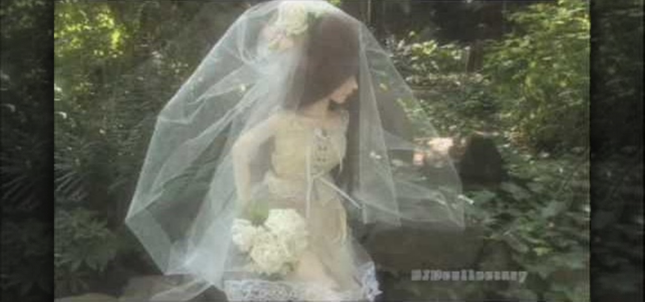 How to Easily make a bridal veil for your doll « Dolls ...