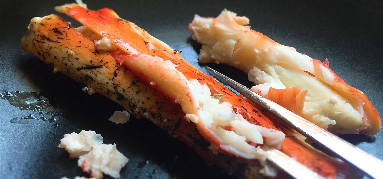 Get Crab & Lobster Meat Out Without Any Special Tools