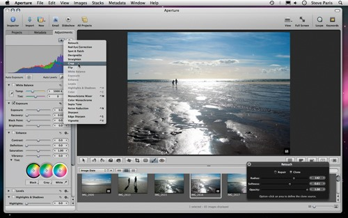 How to Improve a Digital Photograph in Apple's Aperture