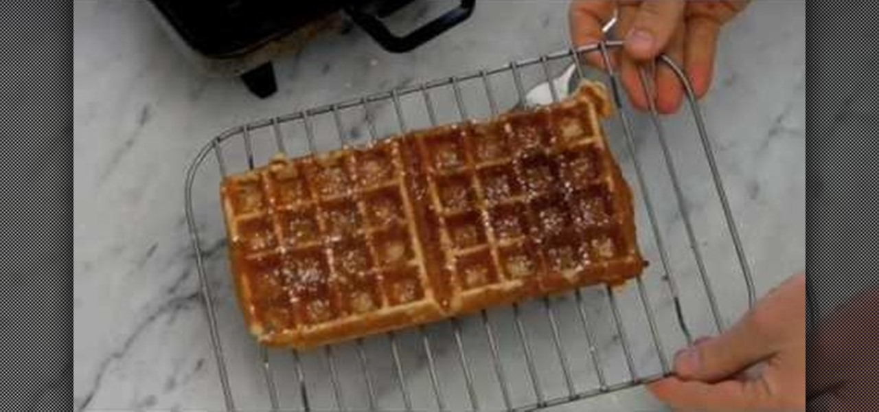 How to make waffle or pancake batter grains nuts soy for Bisquick fish batter