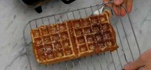 Make waffle or pancake batter