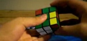 Solve a Rubik's Cube with the Compound OLL method