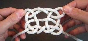 Tie a Pagoda knot