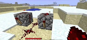 Build a rapid fire dispenser using redstone and stone