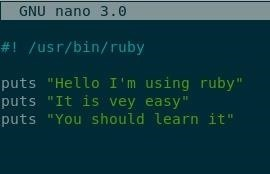 LEARNING RUBY: PART 1 | a GOOD PROGRAM!