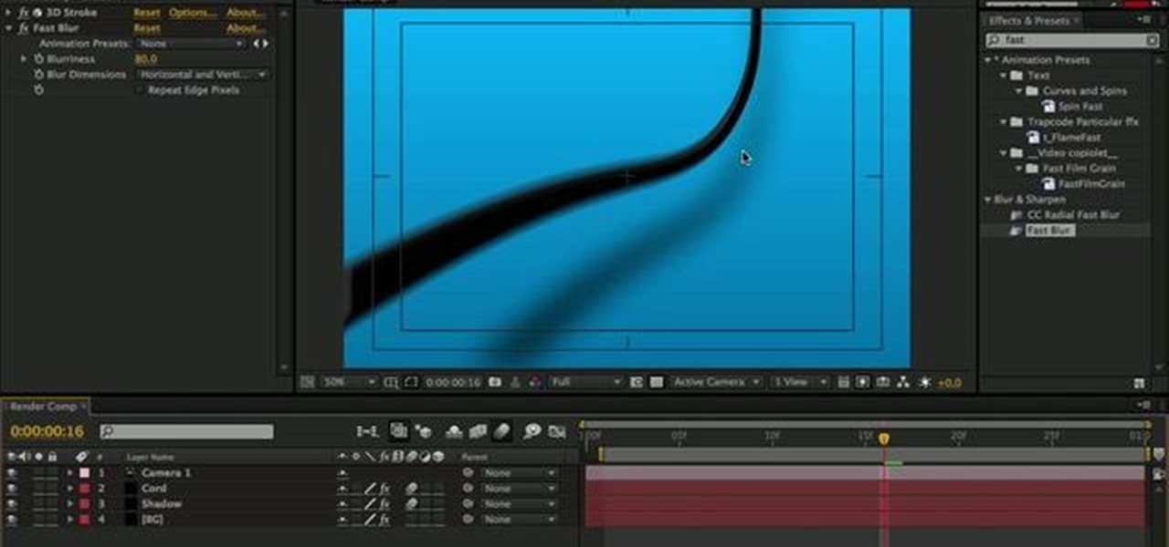 How to Use 3D Stroke in Adobe After Effects « After Effects