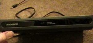 Hook up a digital-to-analog converter box
