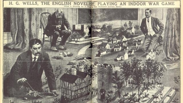 H.G. Wells: World's First Game Master?