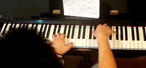 "Play ""Butterfly Fly Away"" by Miley Cyrus on the piano"
