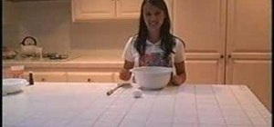 Make chocolate chip cookies, step-by-step