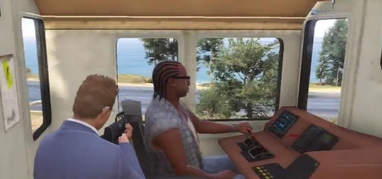 Get into a Train's Cockpit on GTA 5 Online for a Different View of Los Santos