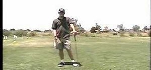 Reduce tension in your swing while you golf