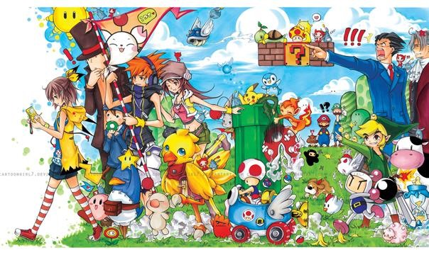 Cute Nintendo Montage