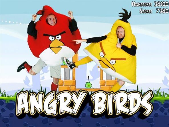 Become an Angry Bird