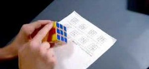 Recognize the G Permutations for a Rubik's Cube solve