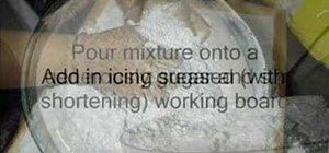 Make marshmallow fondant