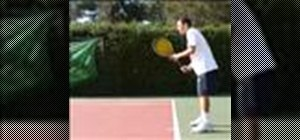 Master the basic one-handed backhand in tennis