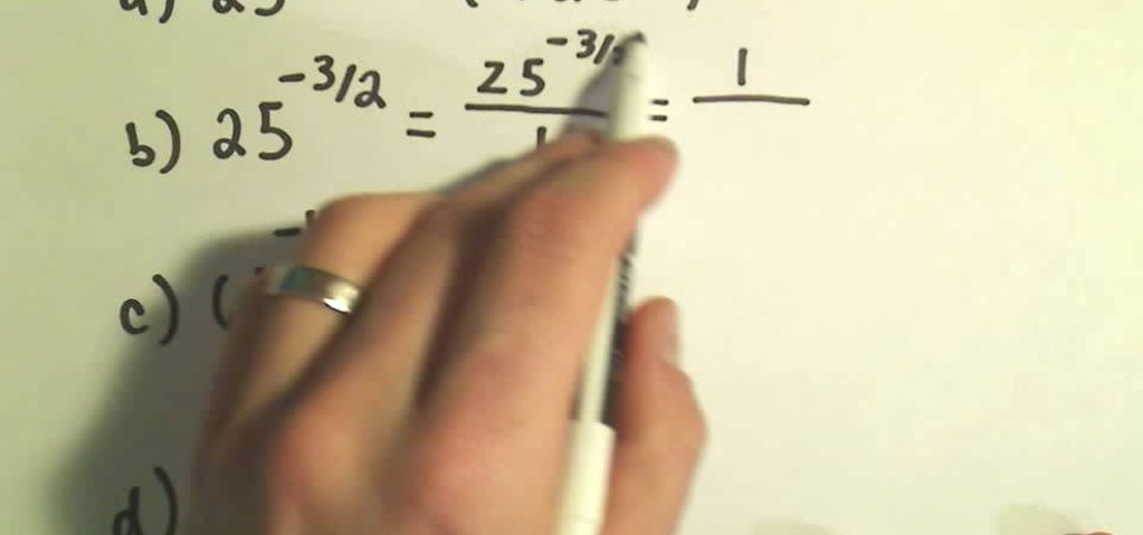 How To Use Radical Notation To Evaluate Rational Exponents Math