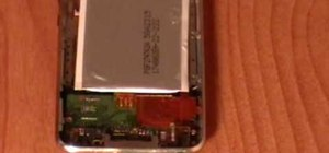 Replace the battery on a 2nd Gen iPod Touch