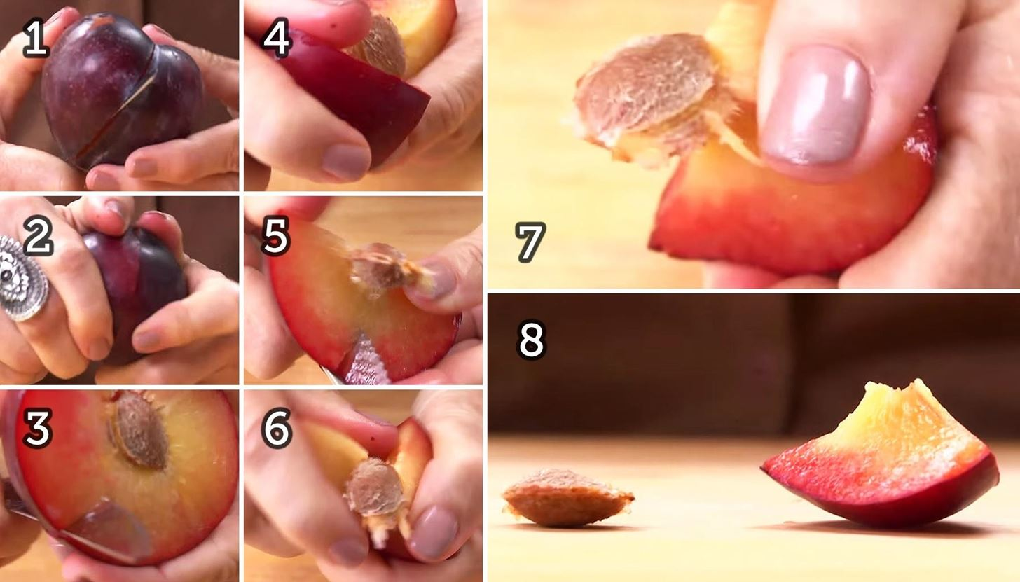 How to Peel Plums images