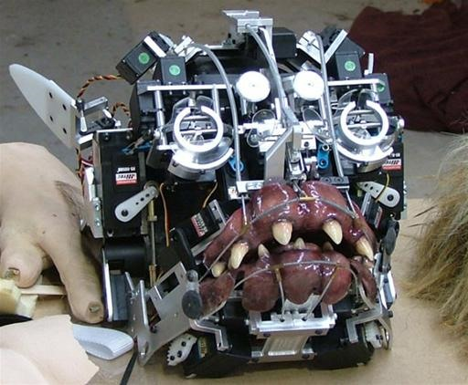 Behind the Scenes: Animatronic Guts