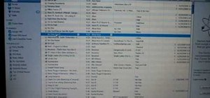 Burn a CD from a playlist in iTunes