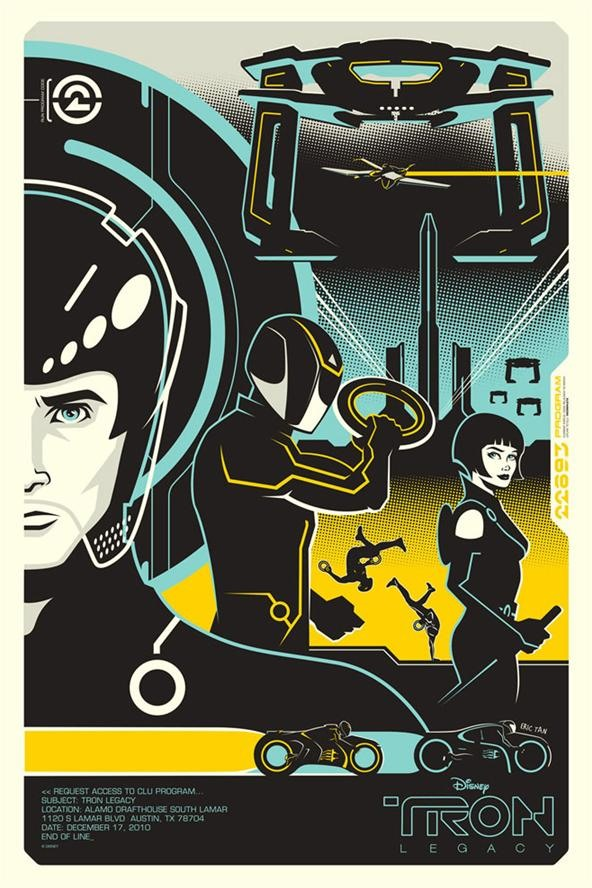 Tron Posters ReMixed