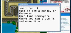 Hack Bloons Tower Defense 4 with a glitch (11/12/09)
