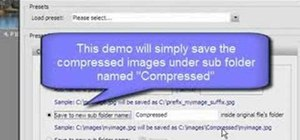 Batch compress multiple photos at once
