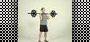 Tone arms with a push press exercise