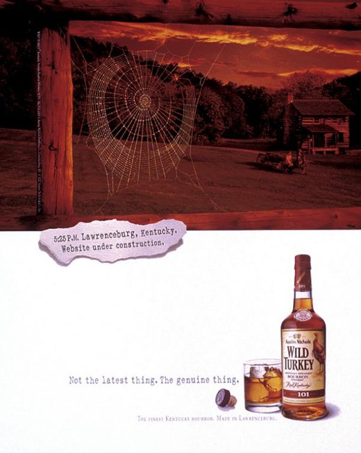 A History of Print Ads from Wild Turkey Bourbon