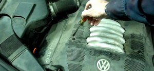 Replace the coolant temperature sensor in your Volkswagon automobile