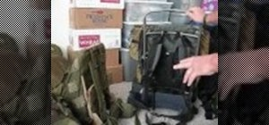 Prepare a bug out bag for escaping a disaster
