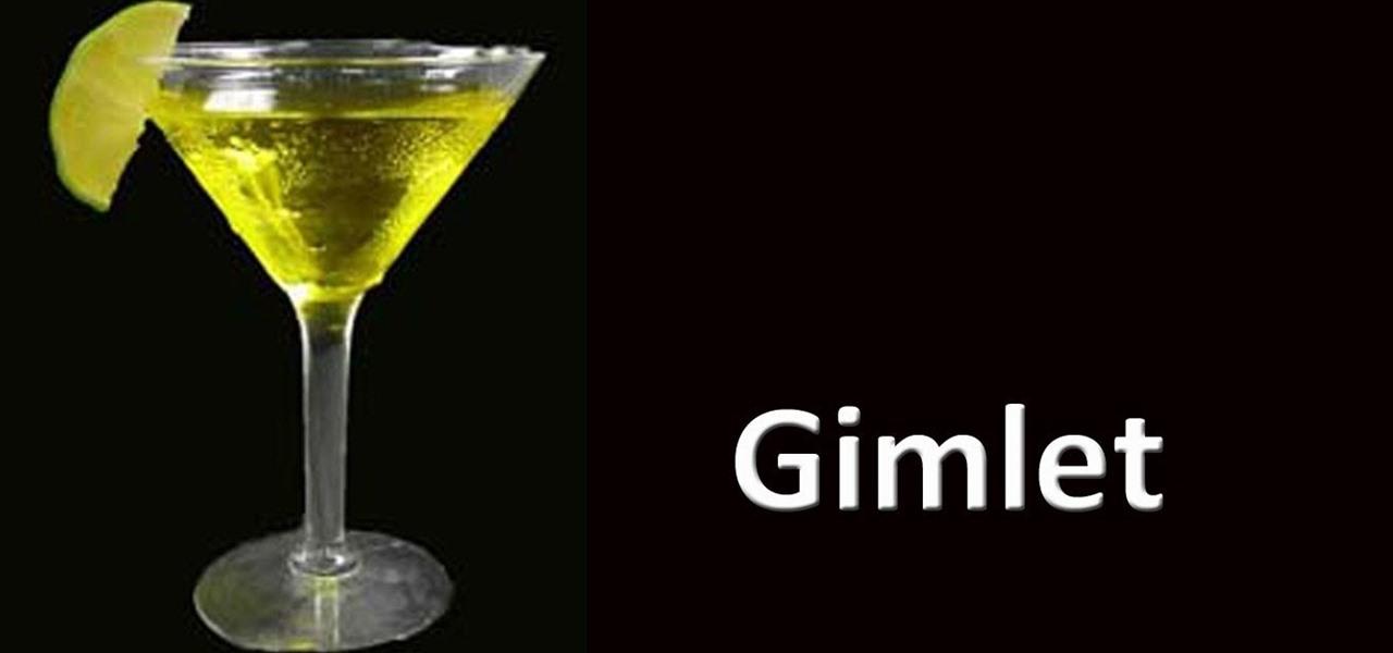 How to Make a vodka gimlet cocktail « Vodka