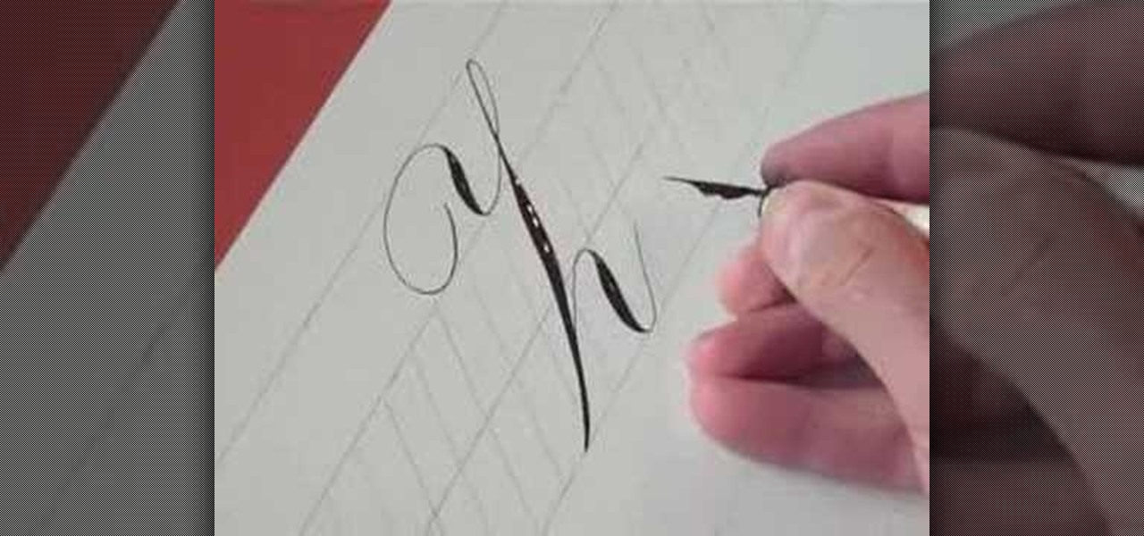 How To Write The Letter Z In Calligraphy Copperplate
