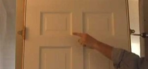 Hang an interior door properly