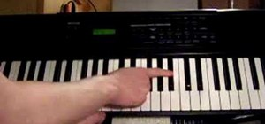 "Play ""Landslide"" by Stevie Nicks on piano"