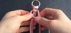 Weave a two color solomon bar