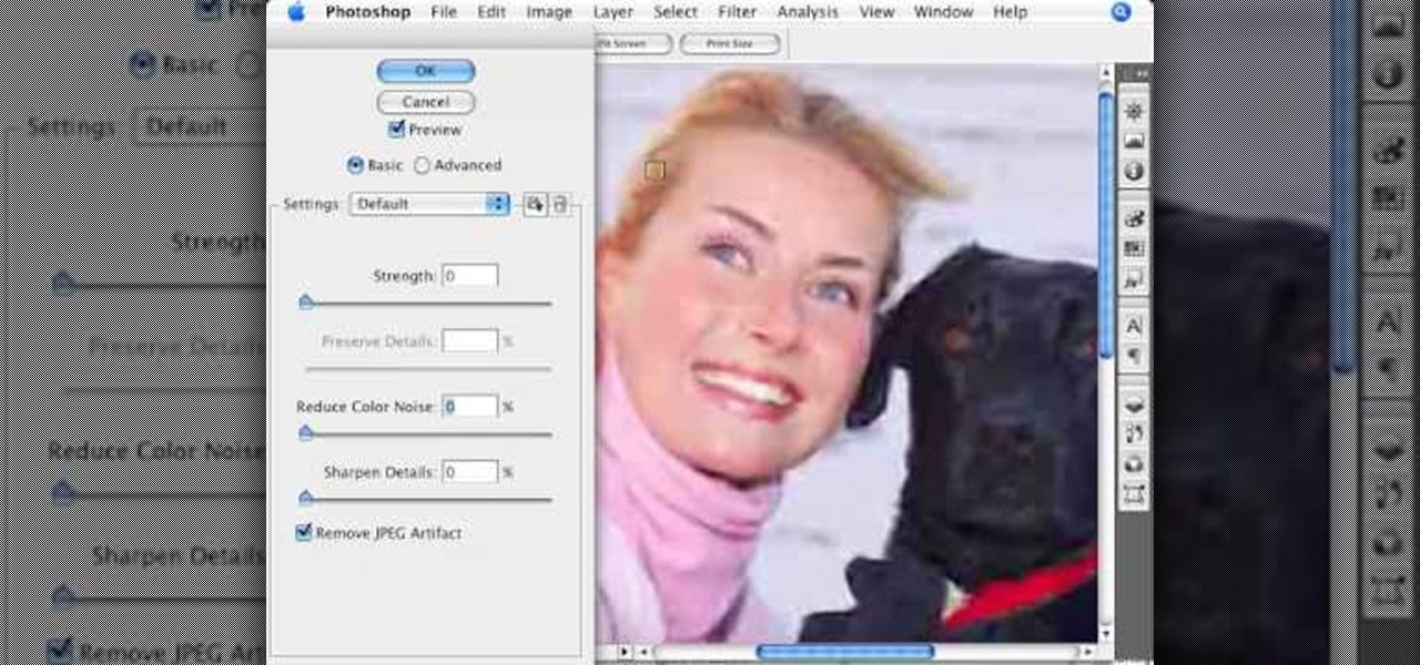 How to Remove Jpeg Artifacts
