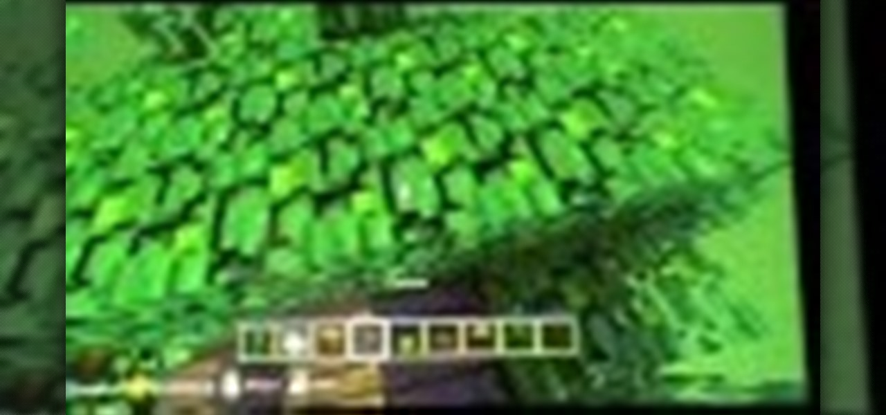Learn How to Make a Jungle Tree House in Minecraft