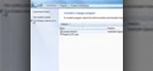 Uninstall a program in Windows 7 easily