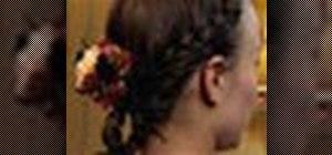 Do a headband braid