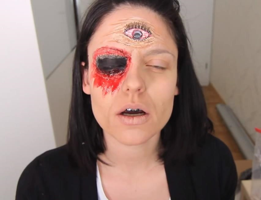 AHS Freak Show: DIY Blind Fortune Teller Makeup FX for Halloween