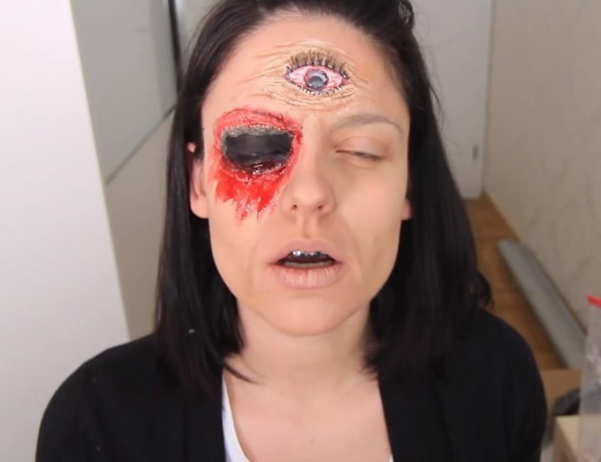 AHS Freak Show: DIY Blind Fortune Teller Makeup FX for Halloween