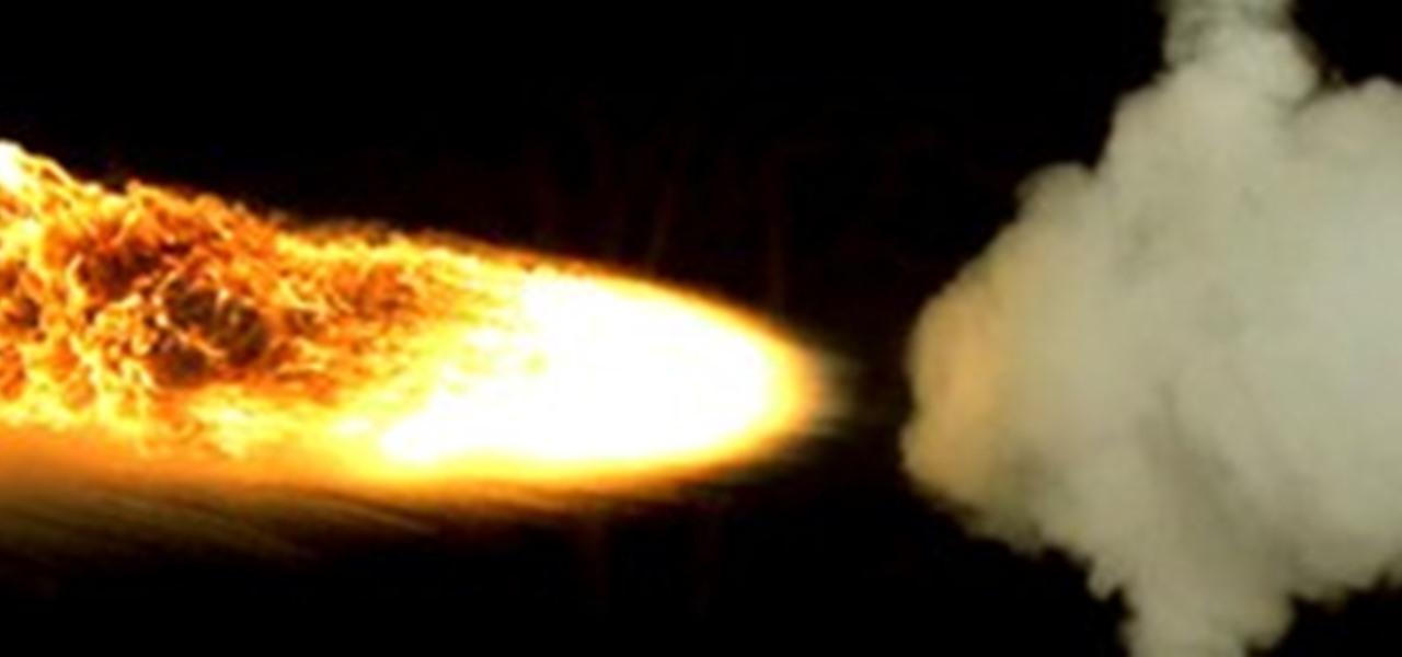 Flamethrower vs. Fire Extinguisher